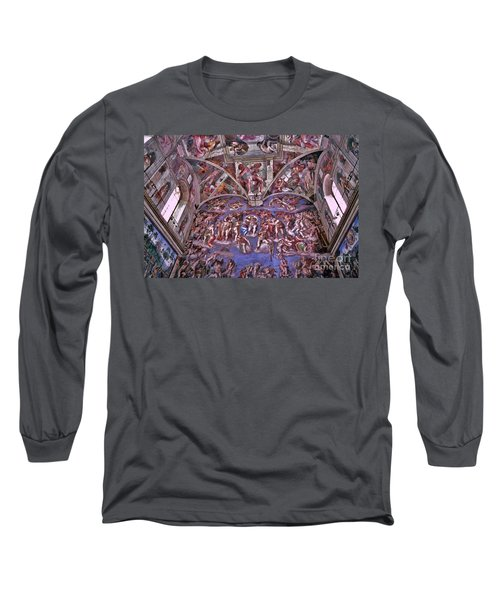 Long Sleeve T-Shirt featuring the photograph Sistine Chapel by Allen Beatty