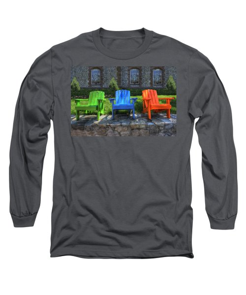 Sit Back Long Sleeve T-Shirt by Paul Wear