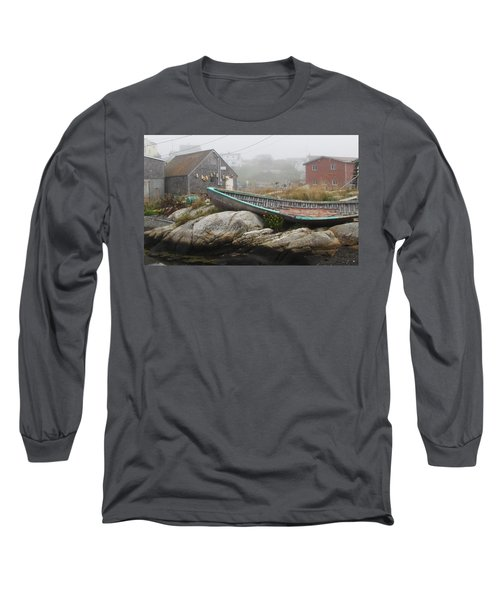 Long Sleeve T-Shirt featuring the photograph Skeleton Ashore by Jennifer Wheatley Wolf