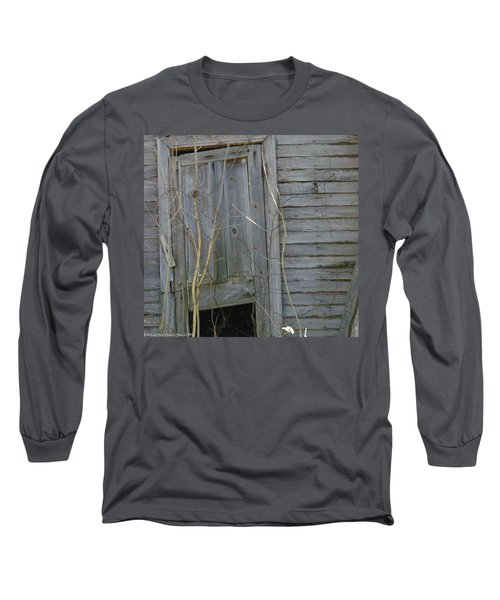 Long Sleeve T-Shirt featuring the photograph Skewed by Nick Kirby
