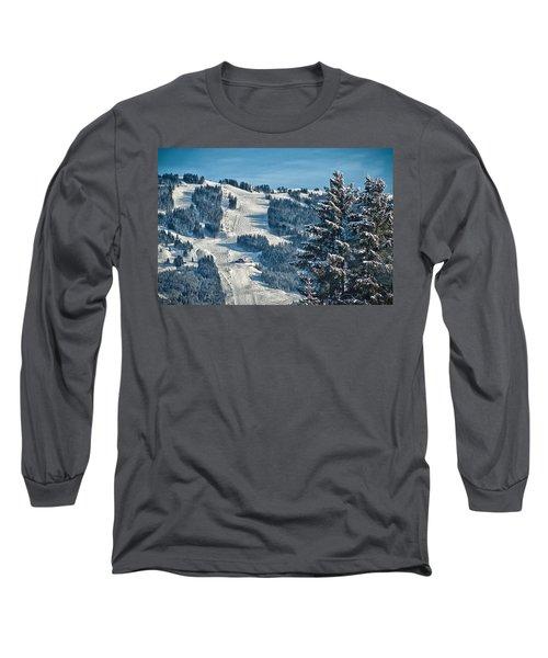 Ski Run Long Sleeve T-Shirt