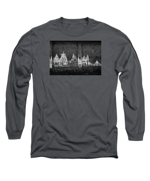 Long Sleeve T-Shirt featuring the photograph Skc 0003 Temple Complex by Sunil Kapadia