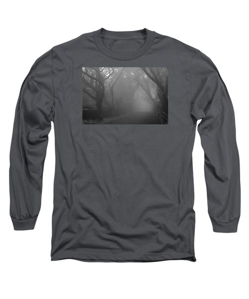 Long Sleeve T-Shirt featuring the photograph Skc 0077 A Romatic Path by Sunil Kapadia