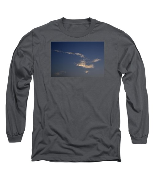 Long Sleeve T-Shirt featuring the photograph Skc 0353 Cloud In Flight by Sunil Kapadia
