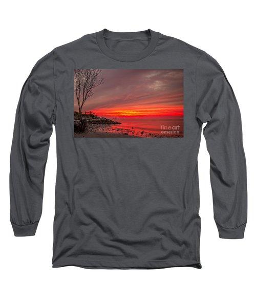 Sky Fire Long Sleeve T-Shirt