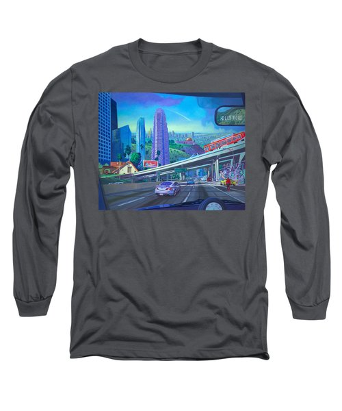 Skyfall Double Vision Long Sleeve T-Shirt by Art James West