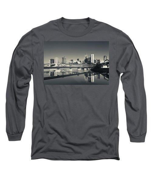 Skyline From Raspberry Island, St Long Sleeve T-Shirt