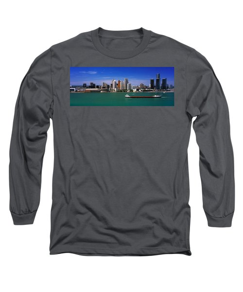Skylines At The Waterfront, River Long Sleeve T-Shirt