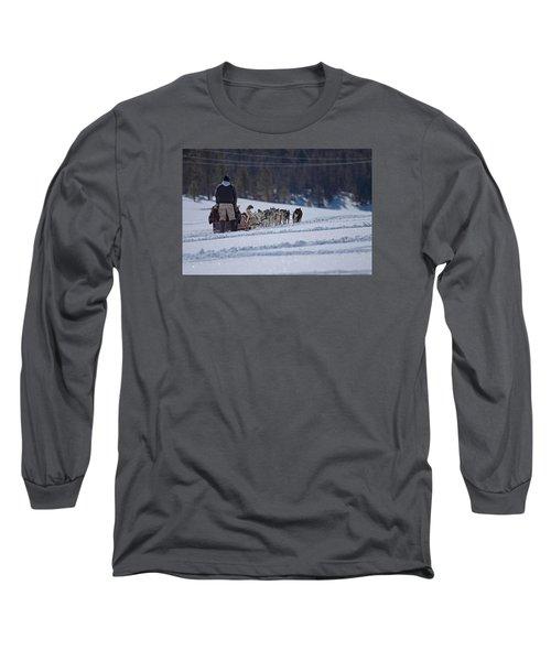 Sled Dog  Long Sleeve T-Shirt