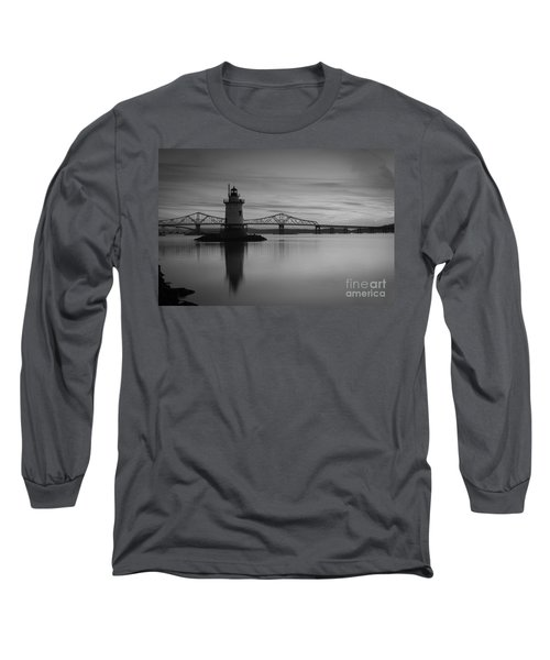 Sleepy Hollow Lighthouse Bw Long Sleeve T-Shirt