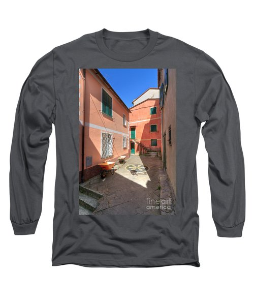 small square in Camogli Long Sleeve T-Shirt