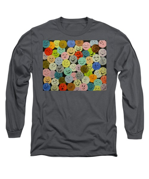 Smilies Long Sleeve T-Shirt