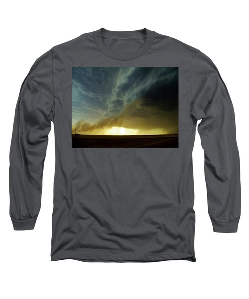 Smoke And The Supercell Long Sleeve T-Shirt