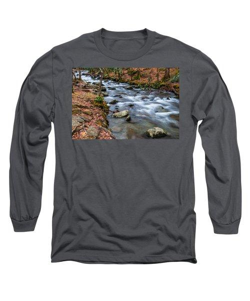 Smokey Mountain Stream Long Sleeve T-Shirt