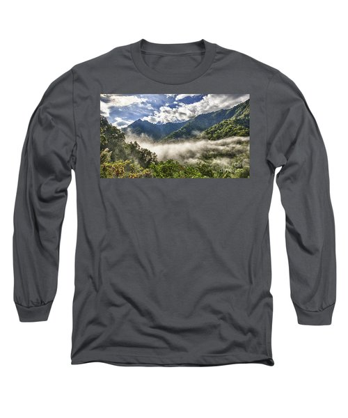 Smoky Mountain Chimney Tops Long Sleeve T-Shirt