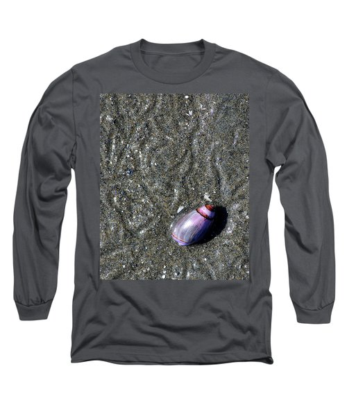 Long Sleeve T-Shirt featuring the photograph Snail's Pace by Lisa Phillips