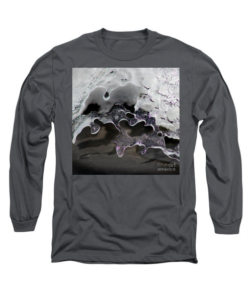 Snow And Ice Square Long Sleeve T-Shirt
