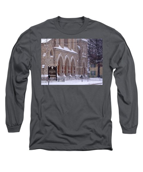 Snow At St. John's Long Sleeve T-Shirt