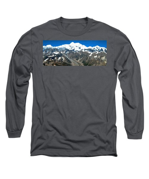 Snow Capped Canyon Long Sleeve T-Shirt