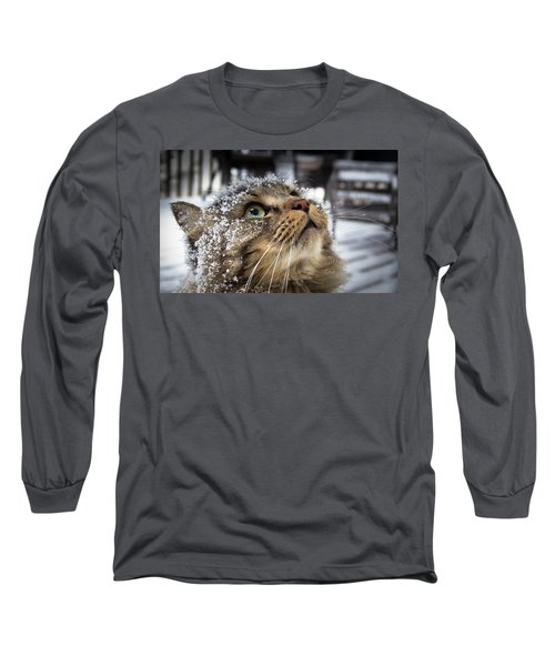 Snow Cat Long Sleeve T-Shirt