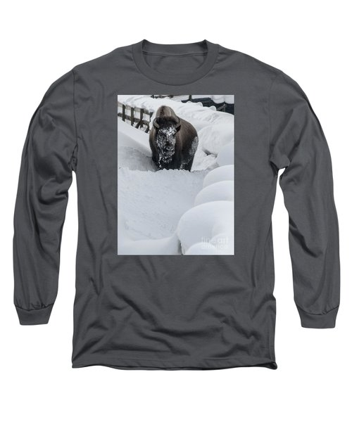 Snow Face Long Sleeve T-Shirt