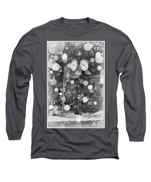 Snow Time Holly Michigan Long Sleeve T-Shirt