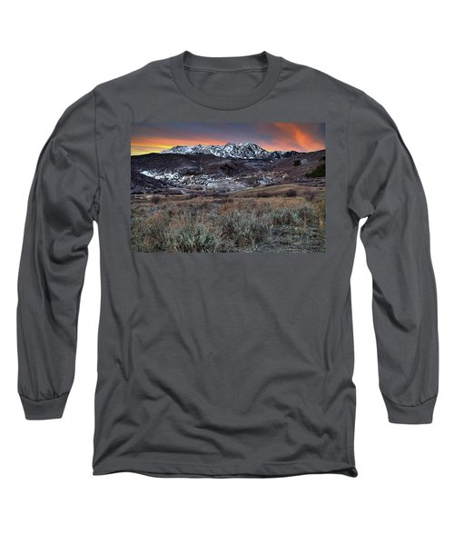 Snowbasin Fire And Ice Long Sleeve T-Shirt