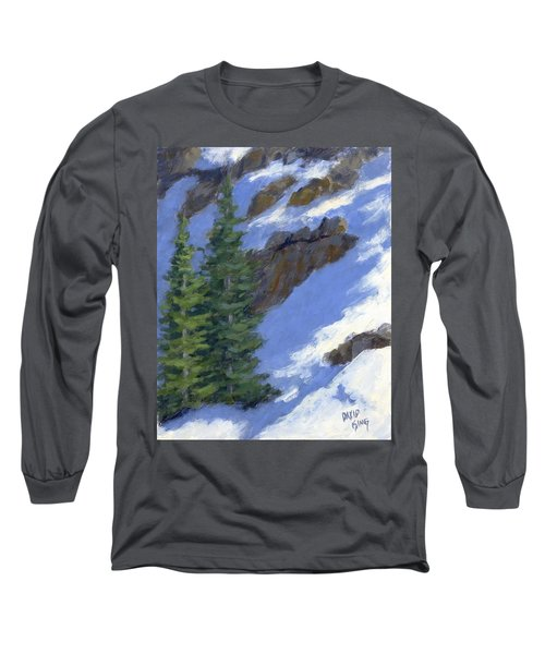 Snowy Slope Long Sleeve T-Shirt