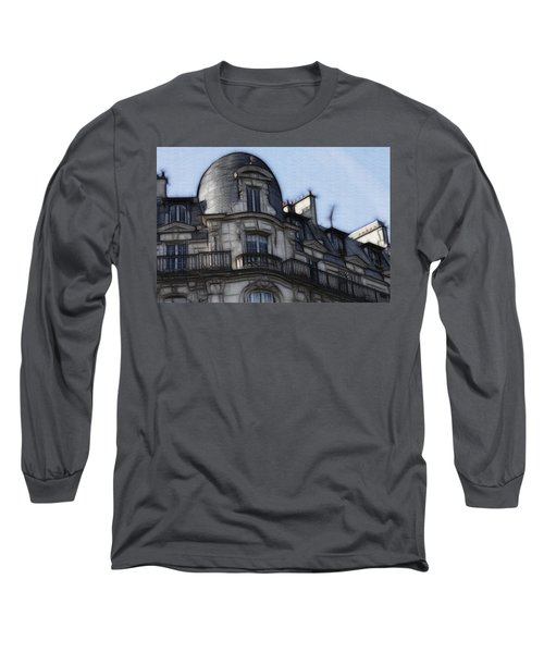 Softer Side Of Paris Architecture Long Sleeve T-Shirt