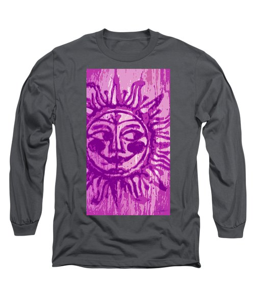Sol - Fuschia Long Sleeve T-Shirt