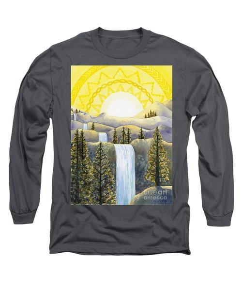 Solar Plexus Chakra Long Sleeve T-Shirt