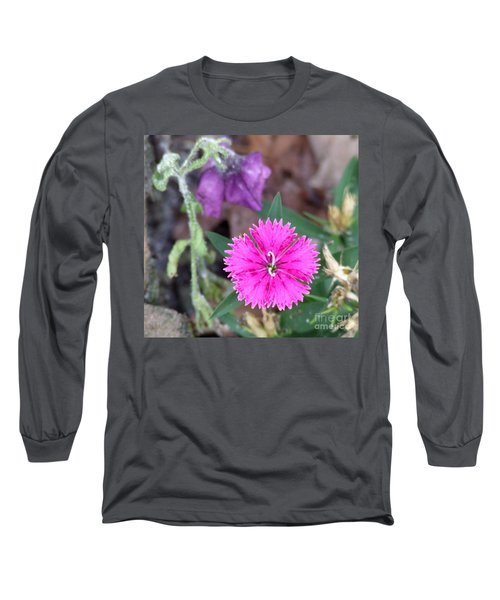 Long Sleeve T-Shirt featuring the photograph Solitary by Andrea Anderegg