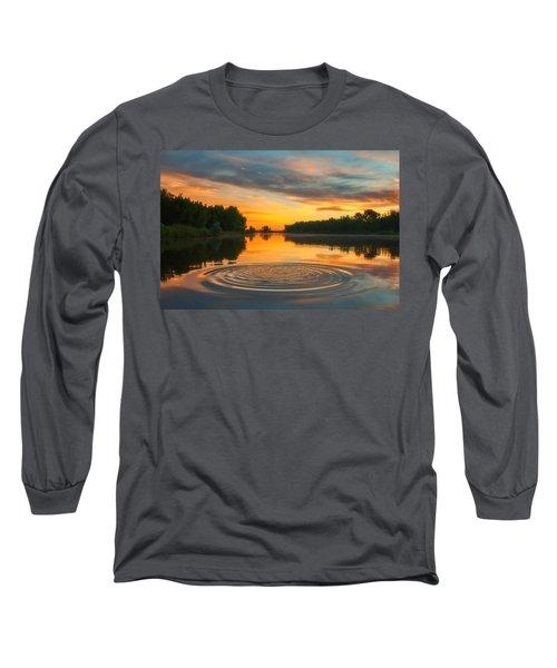 Solstice Ripples Long Sleeve T-Shirt