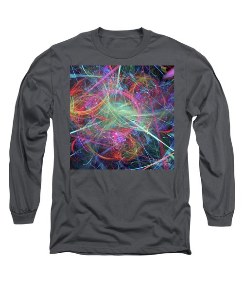 Sonogram Of The Soul Long Sleeve T-Shirt by Margie Chapman