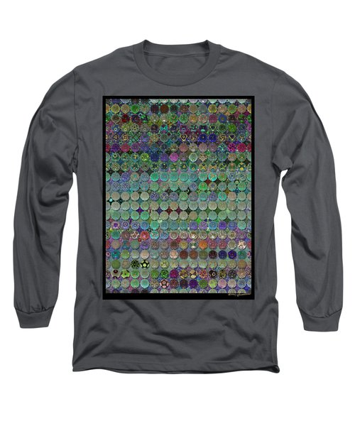 Soon The Dark Cloud Will Be Gone And Life Will Be Glass Ornaments Long Sleeve T-Shirt