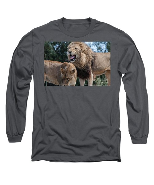 Sorry Your Majesty Long Sleeve T-Shirt by Ray Warren