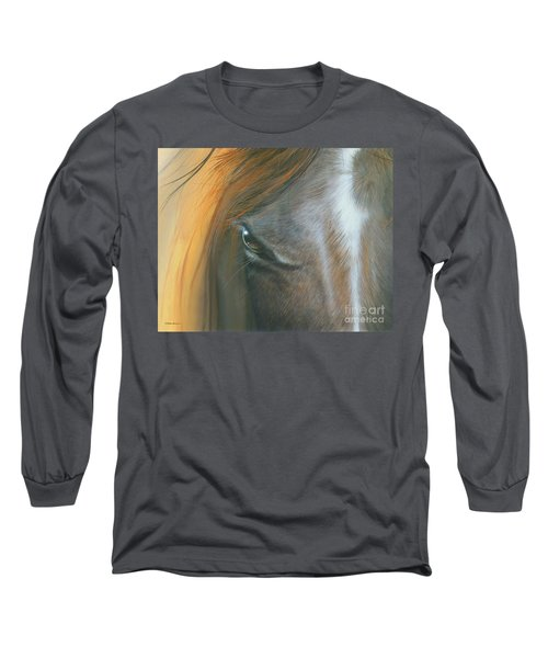 Long Sleeve T-Shirt featuring the painting Soul Within by Mike Brown