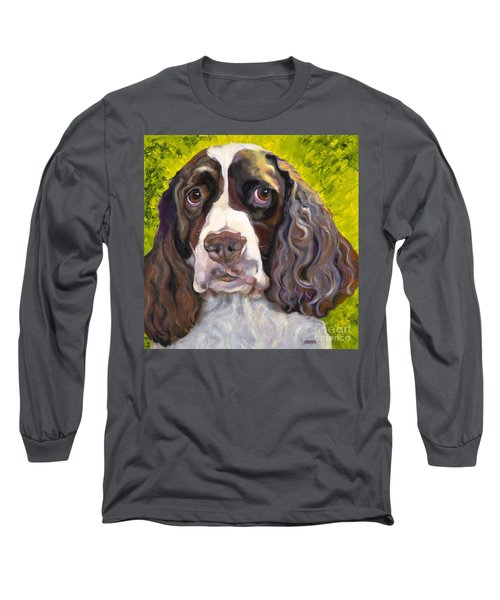 Spaniel The Eyes Have It Long Sleeve T-Shirt