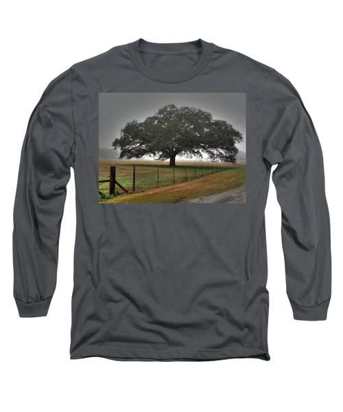 Long Sleeve T-Shirt featuring the photograph Spanish Oak I by Lanita Williams