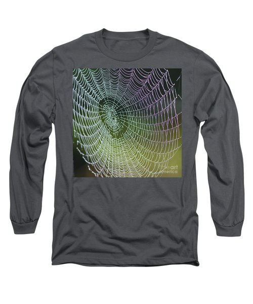 Spider Web Long Sleeve T-Shirt by Heiko Koehrer-Wagner