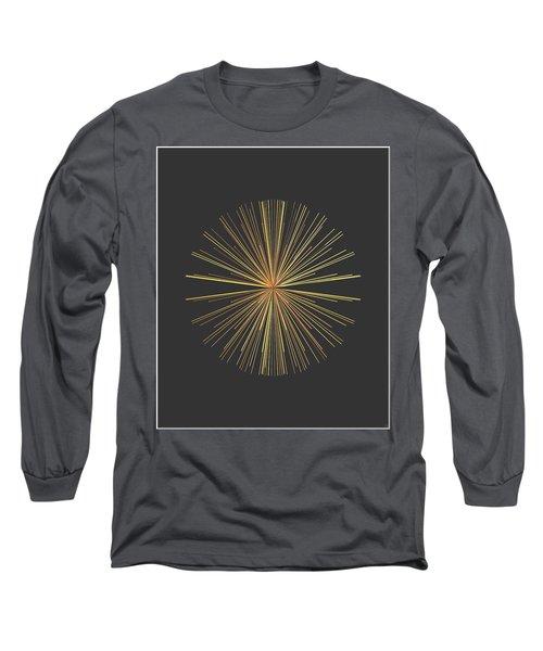 Long Sleeve T-Shirt featuring the digital art Spikes... by Tim Fillingim