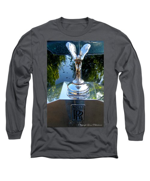 Long Sleeve T-Shirt featuring the photograph Spirit Of Ecstacy by Leena Pekkalainen