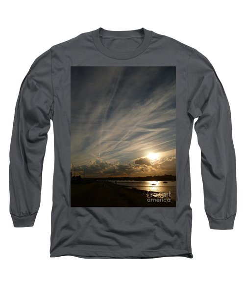 Spirits Flying In The Sky Long Sleeve T-Shirt