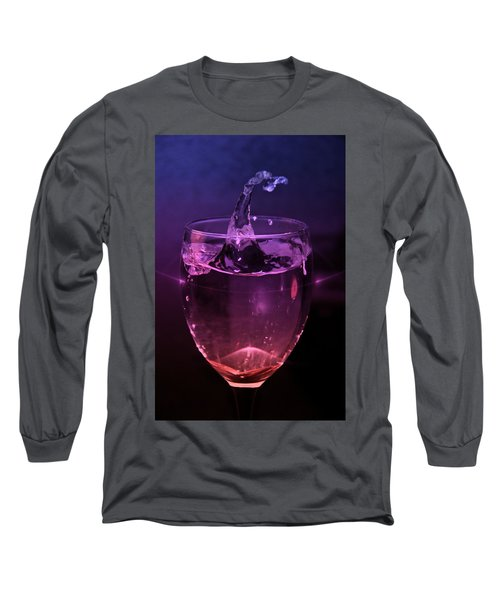 Long Sleeve T-Shirt featuring the photograph Splash by Aaron Berg