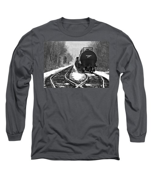 Split Decision Long Sleeve T-Shirt