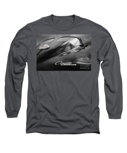 Split Window Long Sleeve T-Shirt by Dennis Hedberg