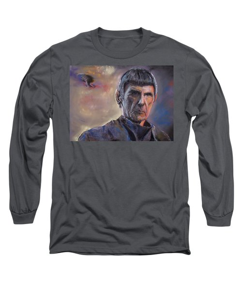 Spock Long Sleeve T-Shirt by Peter Suhocke
