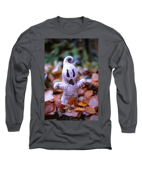 Long Sleeve T-Shirt featuring the photograph Spooky Autumn by Aaron Aldrich