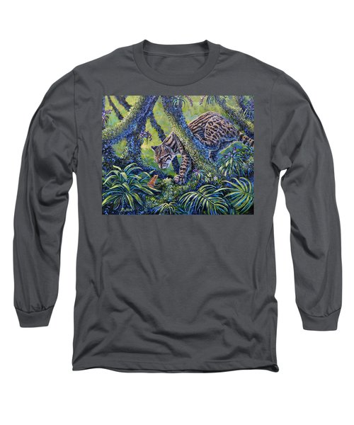 Spotted Long Sleeve T-Shirt by Gail Butler