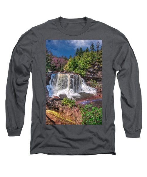 Spring At Blackwater Falls Long Sleeve T-Shirt
